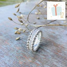 12.Dezember: Fingerring Silber mit Zirkonias