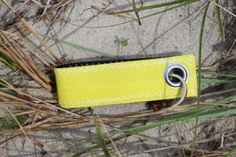 Schlüsselanhänger, schwarz/gelb