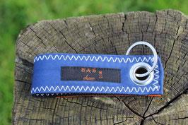 Schlüsselanhänger, schwarz/blau, orange, Jugendfeuerwehr, Nr. 11