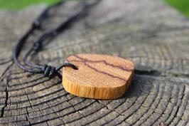Halskette mit einem Anhänger aus Holz, Nr. 14
