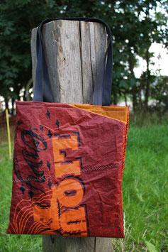 Einkaufstasche 2.0, orange, braun, Liquid Force