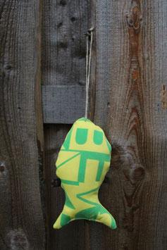 Zierfisch, groß, gelb, grün, North Kiteboarding