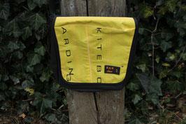 Tablettasche, schwarz/gelb, schwarz, Core, Unikatnr. 460