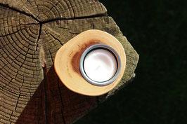 Teelichthalter aus Holz, Nr. 7