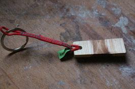 Schlüsselanhänger aus Holz, Nr. 2