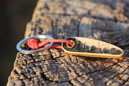 Schlüsselanhänger,braun, schwarz, holzfarbend, Nr. 9