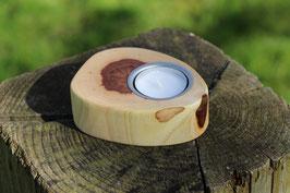 Teelichthalter aus Holz, Nr. 3