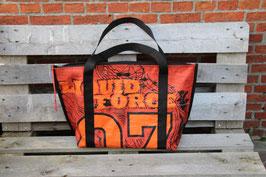 Beach Bag / Shopping Bag, rot, orange, schwarz, Liquid Force, Nr. 708