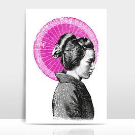 "A4 Artprint ""Geisha"""