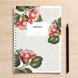 "A5 Notizbuch ""Notes02 Blüten"""