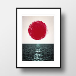 "A4 Artprint ""Sunset"""