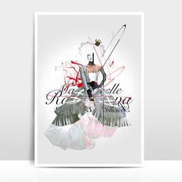 "A3 Artprint ""Mademoiselle"""