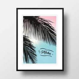 """A4 Artprint """"Aloha"""""""