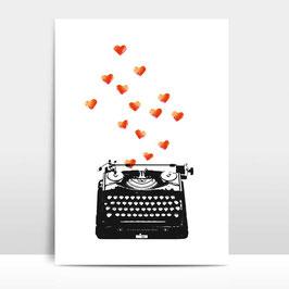 """A4 Artprint """"Loveletter"""""""