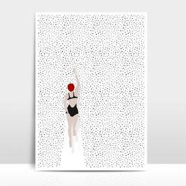 """A3 Artprint """"Punktschwimmer"""""""