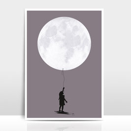 "A4 Artprint ""Moonballoon"""