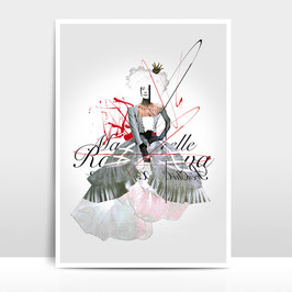"A4 Artprint ""Mademoiselle"""