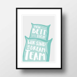 "A4 Artprint ""Dreamteam"""