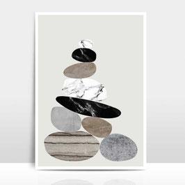 """A4 Artprint """"Steinhaufen"""""""