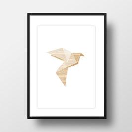 "A4 Artprint ""Origami Taube"""