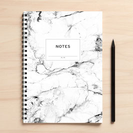 "A5 Notizbuch ""Notes04 Marmor"""
