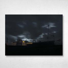"A2 Aludibond-Wandbild ""Insomnia"""