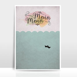 """A4 Artprint """"Moin Moin"""""""