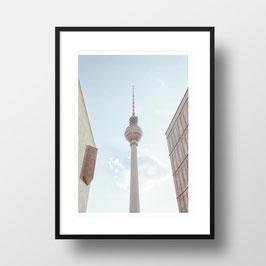 """A4 Artprint """"Fernsehturm Berlin"""""""