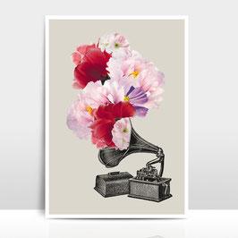 """A3 Artprint """"Blumophon"""""""