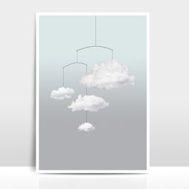 "A3 Artprint ""Wolkenmobile"""