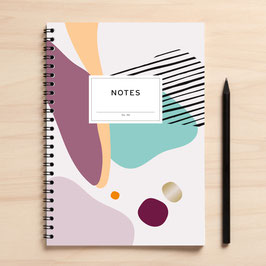 "A5 Notizbuch ""Notes06 Abstrakt"""