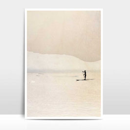 "A4 Artprint ""Stand up Paddler"""