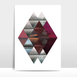 "A4 Artprint ""Horizonte"""