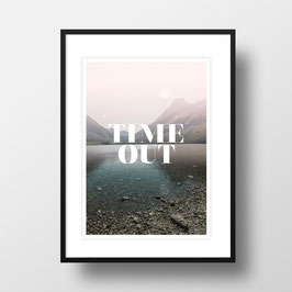 "A4 Artprint ""Time Out"""
