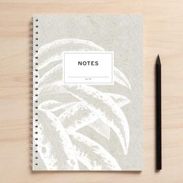 """A5 Notizbuch """"Notes05 weiße Blätter"""""""