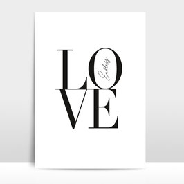 "A3 Artprint ""Endless Love"""