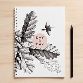 "A5 Notizbuch ""Day by day"""
