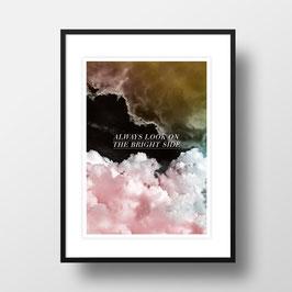 """A4 Artprint """"Rosa Wolken"""""""