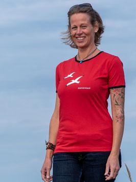 Froen-T-Shirt Rot Meeresrausch