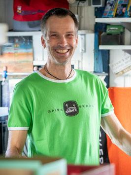 Keerls-T-Shirt Kiosk grün