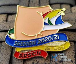 Sessionspin 2020/21 - Voll für'n Arsch