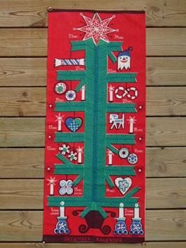 Tryckt adventskalender / アドベントカレンダー