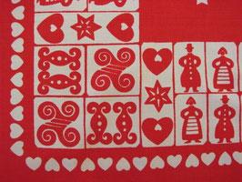 Julduk vitt o rött / クリスマスのクロス 赤白