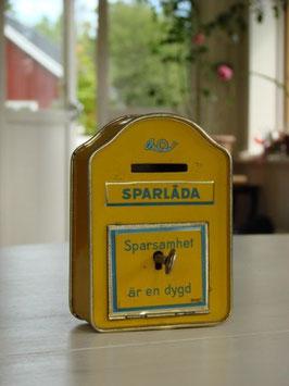 Posten Sparlåda / Posten ポスト型貯金箱