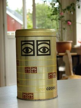 Ögonkakao burk / ココアイズ ココア缶