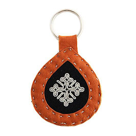 Material för samisk nyckelring / ピューター刺繍のキーホルダー用キット