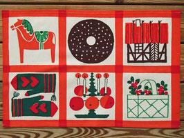 bonad julmotiv/タペストリ- クリスマスモチーフ