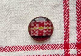 Metallknappar med dräkttyg(i) / 民族衣装の生地のボタン