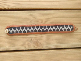 Samisk armband / サーミ族のピューター刺繍ブレスレットC-1