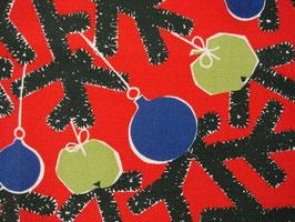 Julduk julgran m. kulor / テーブルクロス クリスマスツリー